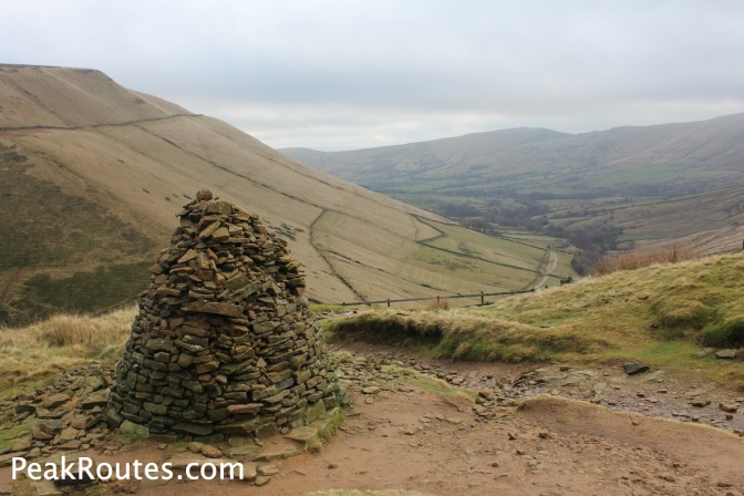 Cairn on the way up Jacob's Ladder