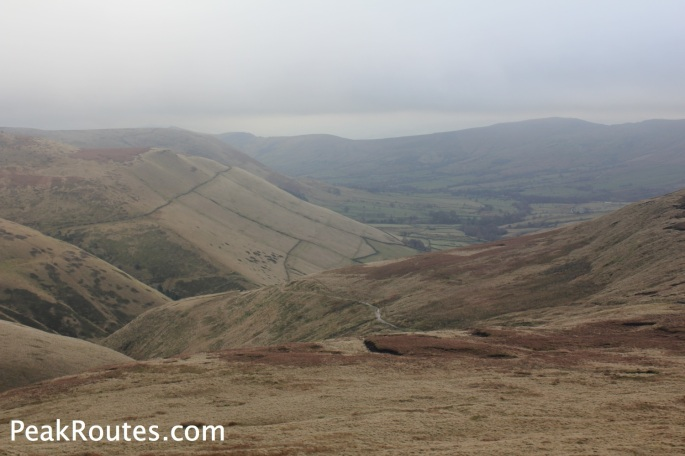 Vale of Edale from below Swine's Back
