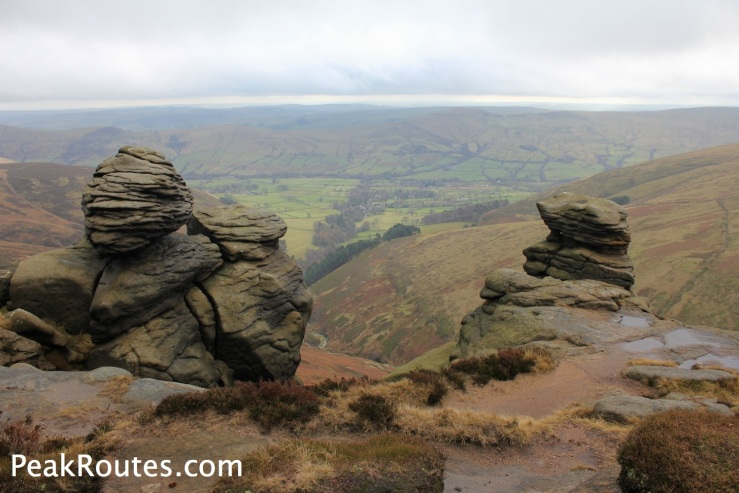 Gritstone Rock Formations near Upper Tor