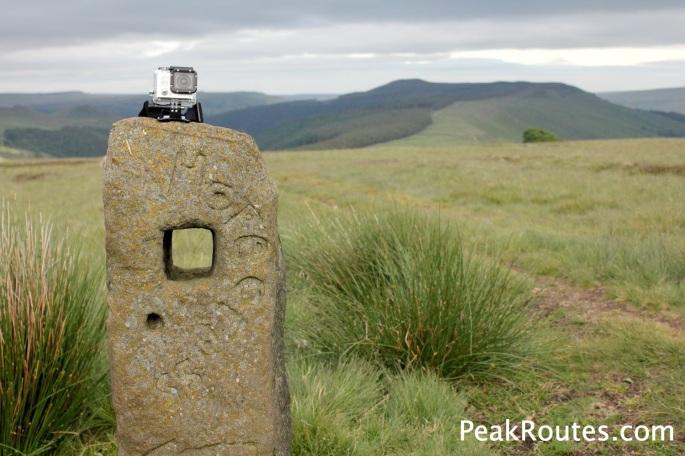 Sign on Crookstone Moor