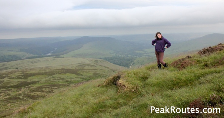 Win Hill from Crookstone Knoll on Kinder Scout