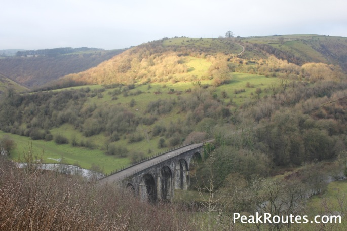 The Headstone Viaduct in Monsal Dale
