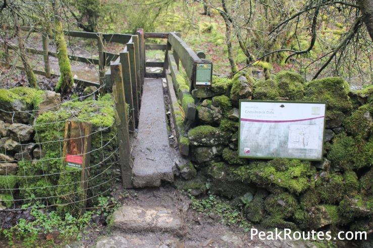 Entrance to Cressbrook Dale National Nature Reserve