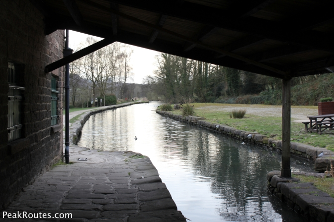 Canal Wharf at Cromford