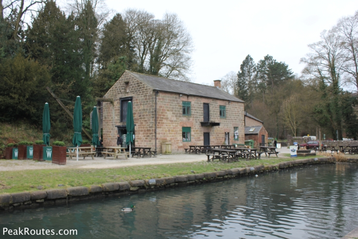Wheatcroft's Wharf cafe at Cromford