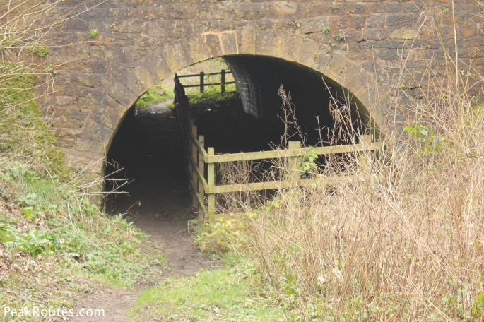 The Tunnel under the B6013 at Buckland Hollow