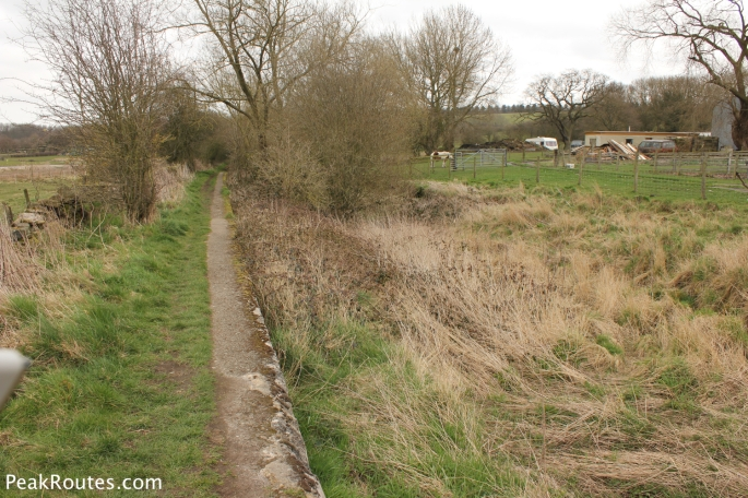 The canal bed at Lower Hartshay