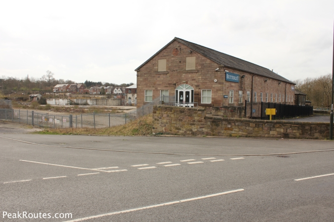 The former Butterly Company works