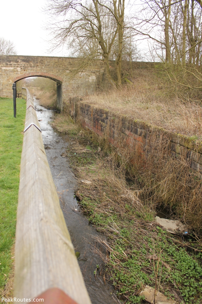 One of the Canal Locks at Ironville