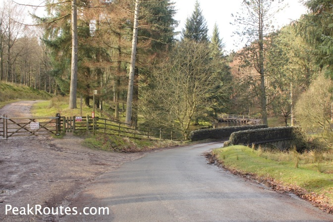 The Bridge of the River Westend at the Howden Reservoir