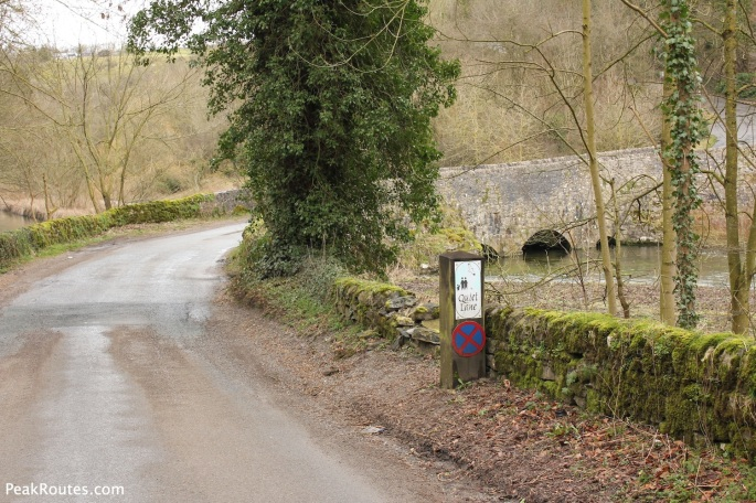 Conksbury Bridge in Lathkill Dale