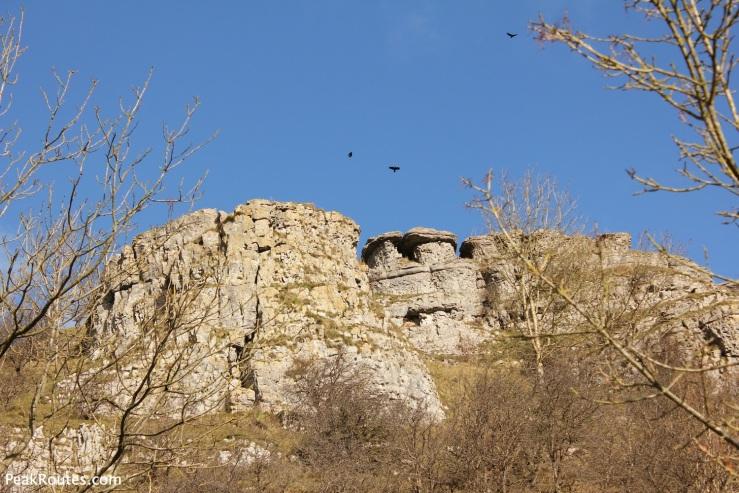 Limestone Cliffs in Lathkill Dale