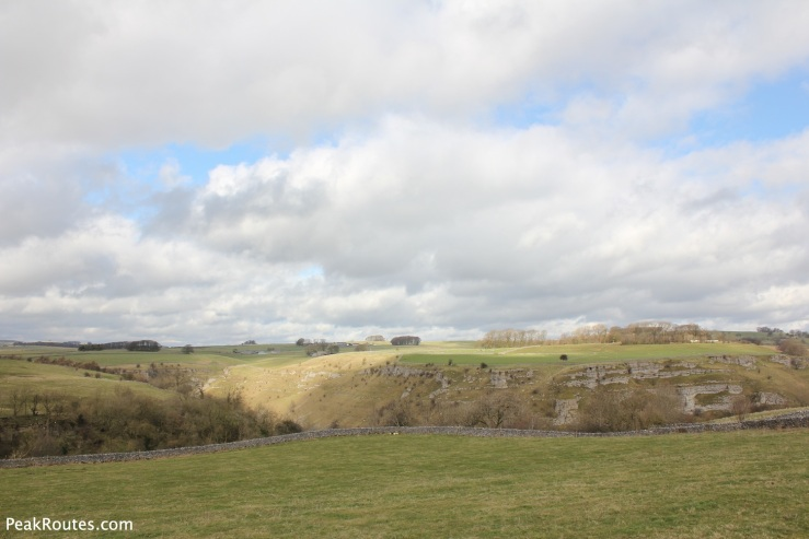 Looking towards Lathkill Dale from the Limestone Way