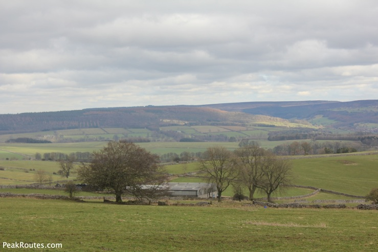 Views of the White Peak from the Limestone Way