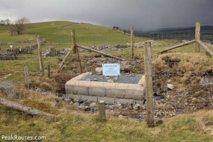 Ecton Hill Mine Shaft