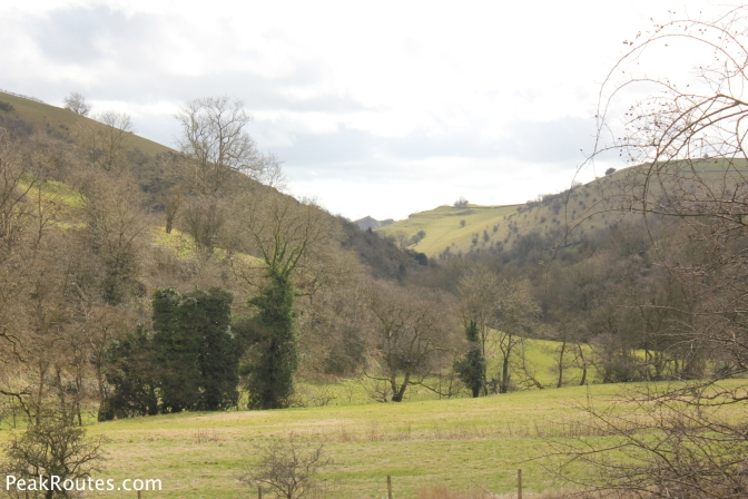 Manifold Valley with Thor's Cave in the distance