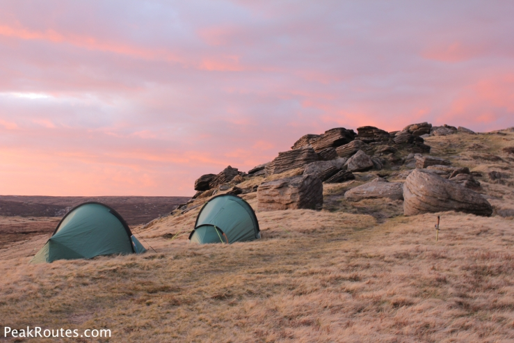 Red Sky over the Kinder Plateau