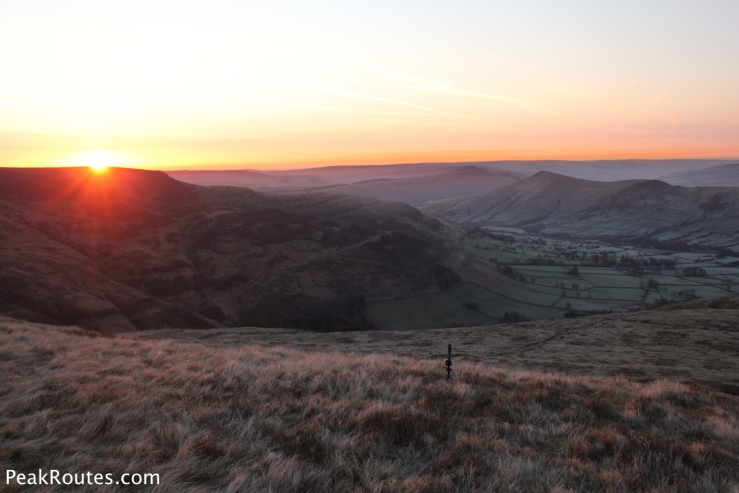 Sunrise over the Vale of Edale