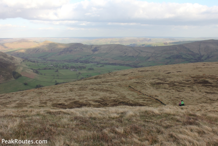 The Vale of Edale from Grindslow Knoll