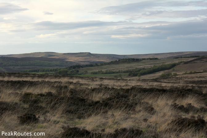 Looking towards Carl Walk and Upper Burbage Edge