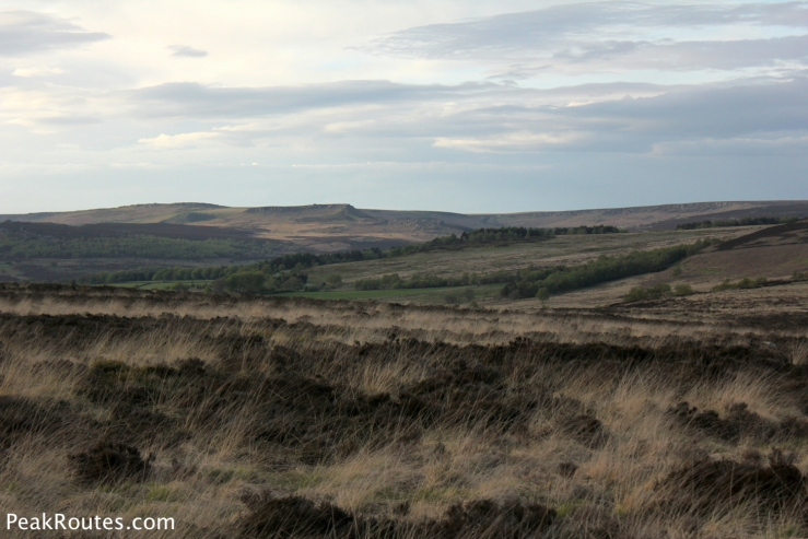 Looking towards Carl Walk and Upper Burbage Edge