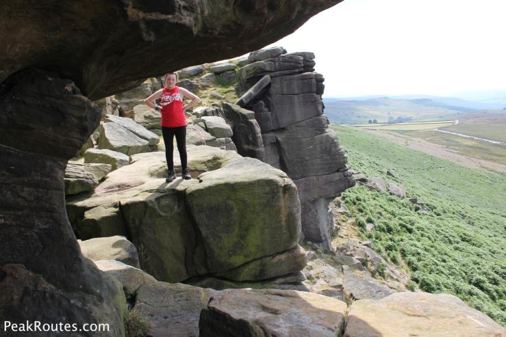 Robin Hood's Cave - Stanage Edge