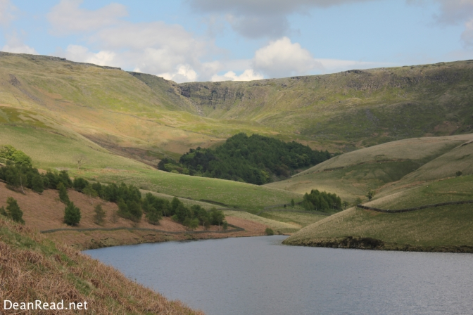 Kinder Scout from the edge of Kinder Reservoir