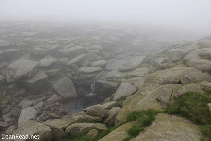 Morning at Kinder Downfall