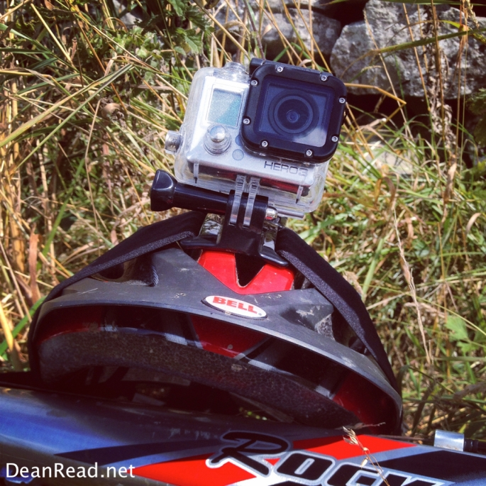 GoPro in the sunshine while we had a lunch break