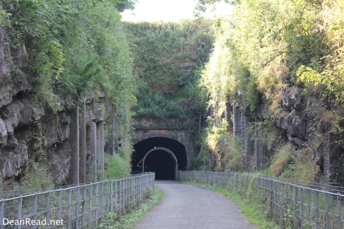 Entering the Headstone Tunnel